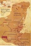 Mapa, Mayas, Yacimientos